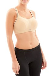 Panache Women's Underwire Sports Bra Latte