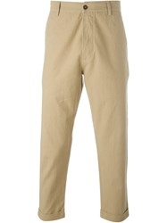 Universal Works Tapered Trousers Nude And Neutrals
