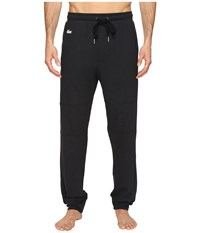 Lacoste Double Face Lounge Pants Black Men's Pajama