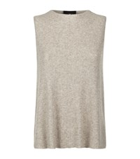 The Row Talipa Cashmere Top Female Ivory