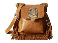American West Eagle Feather Soft Crossbody Fringe Bag Deerskin Cross Body Handbags Yellow