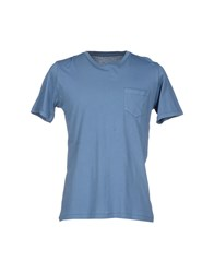 Hartford Topwear T Shirts Men Slate Blue