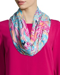 Riley Printed Infinity Scarf Peel And Eat Lilly Pulitzer