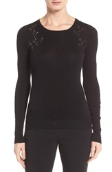 Ivanka Trump Women's Embellished Crewneck Sweater