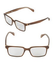 Paul Smith Branwell 47Mm Square Optical Glasses Brown