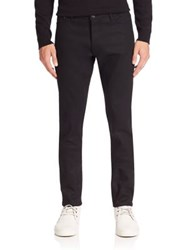 The Kooples Solid Five Pocket Style Jeans Black