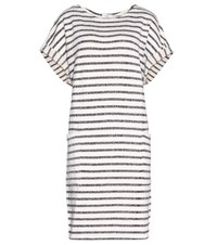 Closed Printed Cotton Blend Dress White