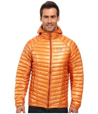 Mountain Hardwear Ghost Whisperer Hooded Down Jacket Orange Copper Men's Coat
