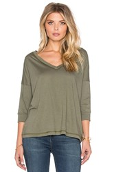 Regalect Eryulle Dolman 3 4 Sleeve Top Green