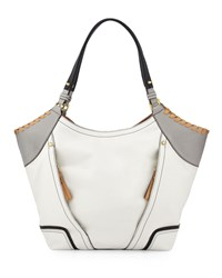 Tegan Shopper White Multi Oryany
