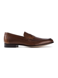 Ps Paul Smith 'Casey Diver' Loafers Brown