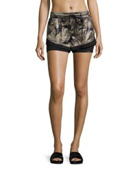 Koral Division Double Layer Shorts Multi
