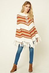 Forever 21 Hooded Sweater Poncho