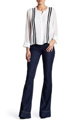 Alice Olivia Low Rise Bell Jean Blue