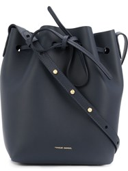 Mansur Gavriel Bucket Crossbody Bag Blue