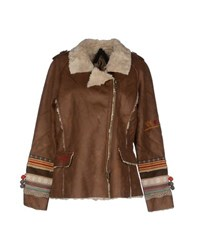 Desigual Coats And Jackets Faux Furs Women