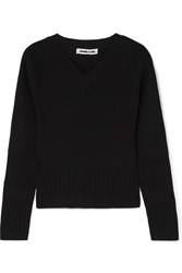 Mcq By Alexander Mcqueen Ribbed Knit Sweater Black