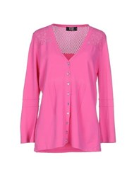 Vdp Collection Knitwear Cardigans Women Fuchsia