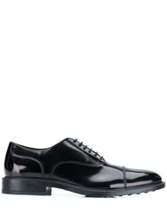 Tod's Lace Up Shoes Black