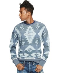 Denim And Supply Ralph Lauren Southwestern Print French Terry Pullover Beacon