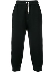 Craig Green Cropped Tapered Trousers Black