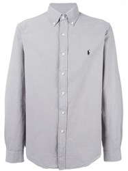 Polo Ralph Lauren Classic Button Down Shirt Grey
