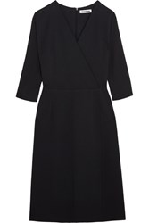 Jil Sander Hald Stretch Jersey Dress Navy