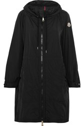 Moncler Ortie Hooded Shell Jacket Black