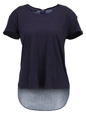 Scotch And Soda Print Tshirt Combo Dark Blue