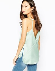 Wal G Cami Top With Open Back Mint