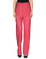 Carlo Contrada Trousers Casual Trousers Women Coral