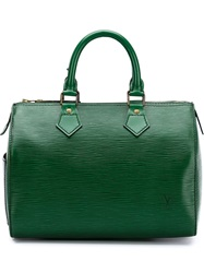 Louis Vuitton Vintage 'Speedy' Epi Bag 25Cm Green
