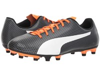 Puma Spirit Fg Black White Shocking Orange Soccer Shoes