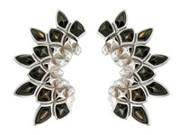Stephen Webster Superstone Earcuffs Black Mother Of Pearl