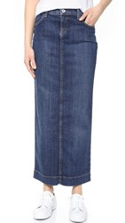 Baldwin Denim Kendall Skirt Sky Valley Medium Indigo