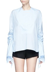 Georgia Alice 'Blue Moon' Ruched Sleeve Tunic