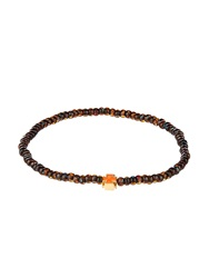 Luis Morais Bead Enamel And Yellow Gold Bracelet