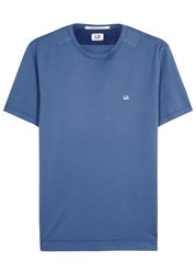 C.P. Company Blue Cotton T Shirt Royal Blue