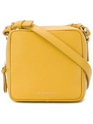 Sara Battaglia Square Shoulder Bag Yellow