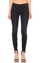 Frame Denim Le Skinny Frayed Stagger Manor Avenue