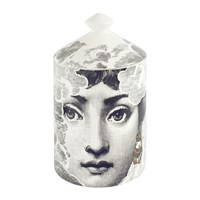 Fornasetti Nuvola Scented Candle Grey