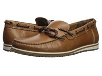 Hush Puppies Bolognese Rope Lace Light Brown Leather Shoes