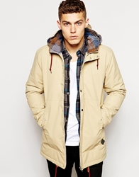 Minimum Parka With Hood Exclusive Tan
