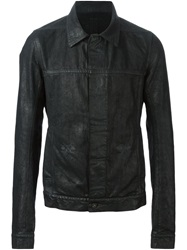 Rick Owens Drkshdw Coated Denim Jacket