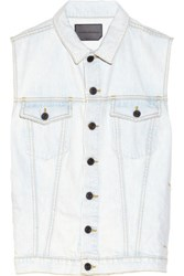 Proenza Schouler Denim Vest Light Denim