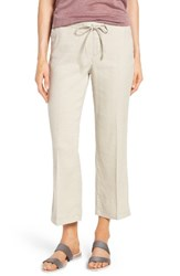 Nydj Women's Jamie Relaxed Ankle Flared Pants Stone