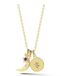 Nova Star Charm Necklace Gold Elizabeth And James