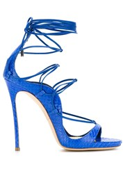 Dsquared2 Strappy Sandals Blue
