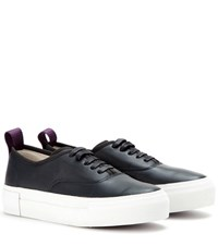 Eytys Mother Leather Sneakers Blue