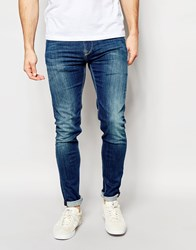 Pepe Jeans Nickle Skinny Jean In Powerflec Used Blue